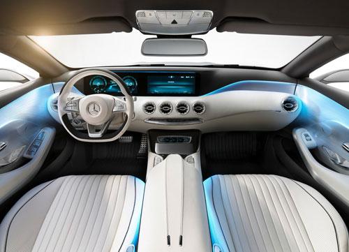 Mercedes-Benz Clase S Coupé Concept (interior)