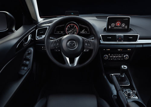 Mazda 3 (interior)