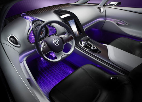 Renault Initiale (interior)