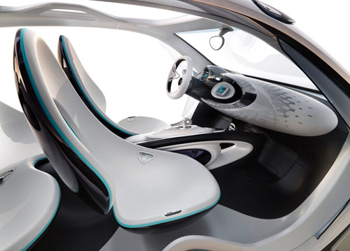 Smart ForJoy (interior)