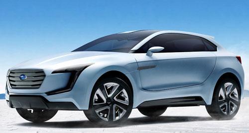 Subaru Viziv (frontal)