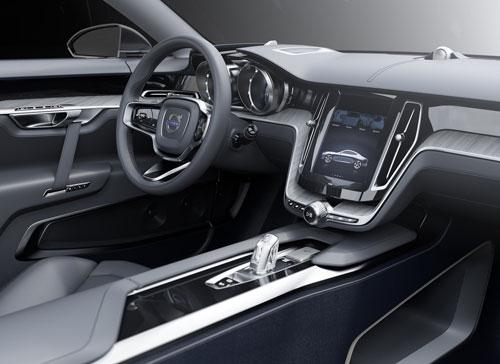 Volvo Coupé Concept (interior)