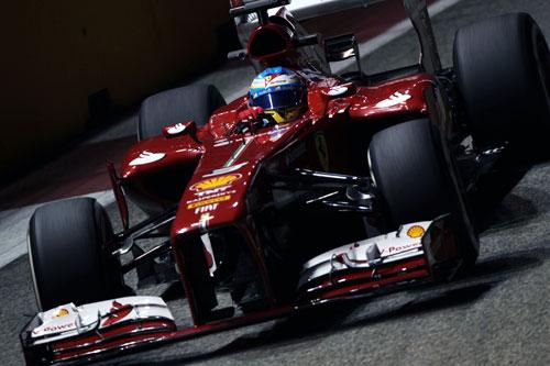 Fernando Alonso F1 Singapur