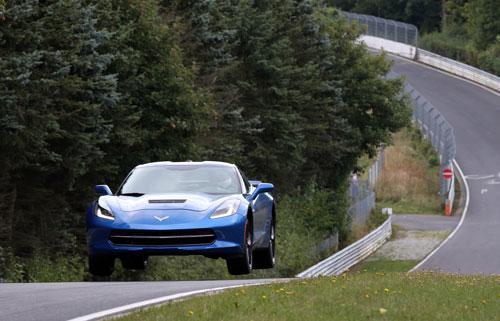 Corvette en Nurburgring