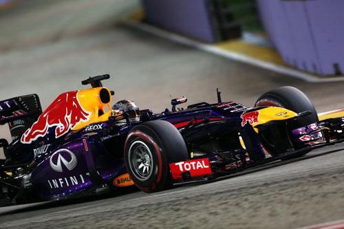 Sebastian Vettel F1 Singapur