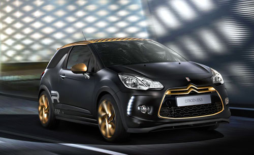 Citroën DS3 Gold Edition (frontal)