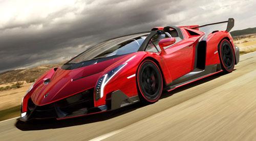 Lamborghini Veneno Roadster (frontal)