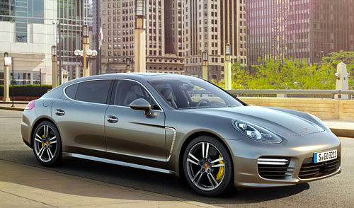 Porsche Panamera Turbo Diesel (frontal)