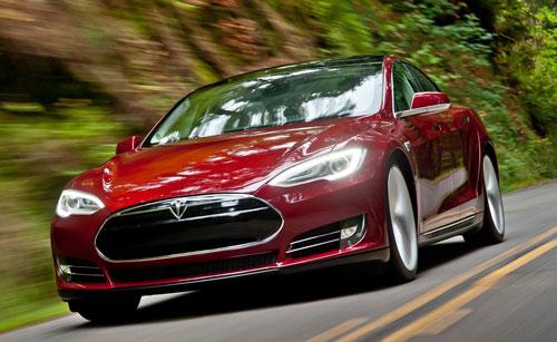 Tesla Model S (frontal)