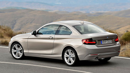 BMW Serie 2 (trasera)
