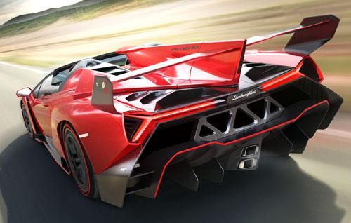 Lamborghini Veneno Roadster (trasera)