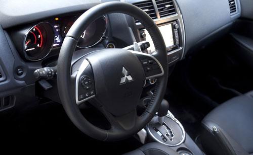 Mitsubishi ASX (interior)