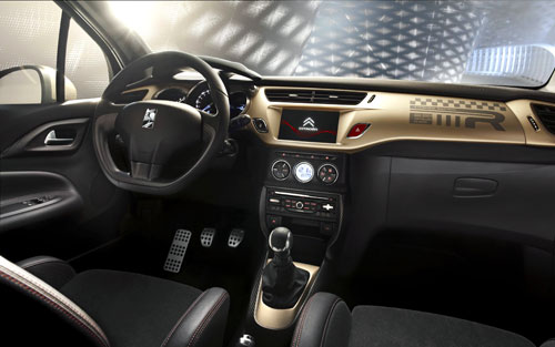 Citroën DS3 Gold Edition (interior)