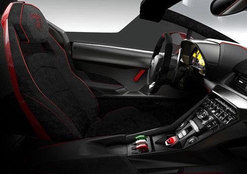 Lamborghini Veneno Roadster (interior)