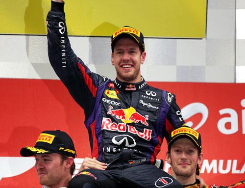 Vettel F1 - Campeón del Mundo 2013