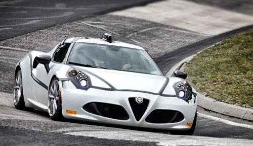 Alfa 4C Nurburgring