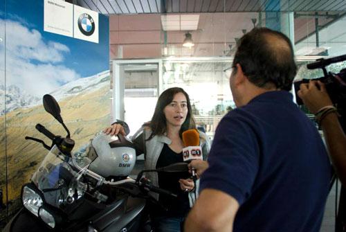 Alicia Sornosa Entrevista TV Mataro