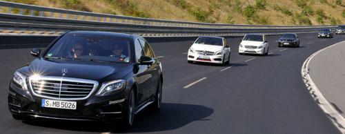 Bridgestone y Mercedes-Benz