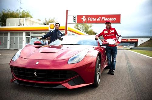 Fernando Alonso y Purito Rodríguez