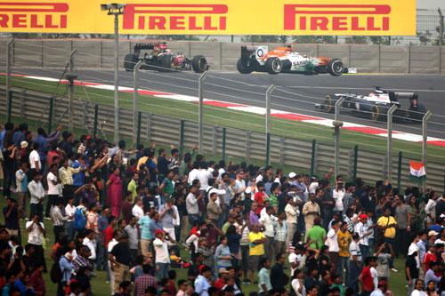 Gradas F1 India 2013