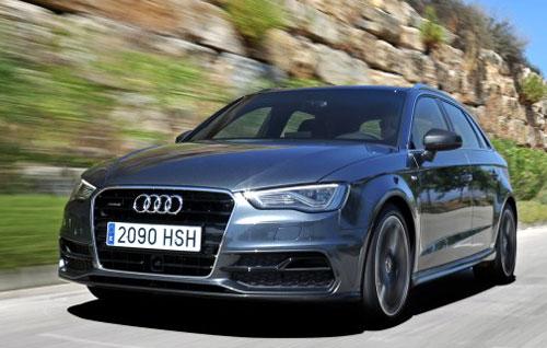 Audi A3 Sportback (frontal)