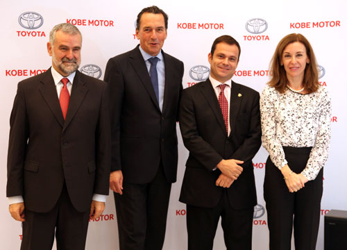 Kobe Motor recibe el premio Club de Oro de Toyota España (1)