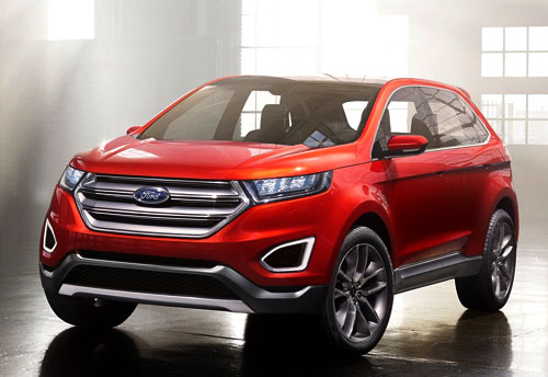 Ford Edge Concept (frontal)
