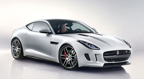 Jaguar F-Type Coupé (frontal)