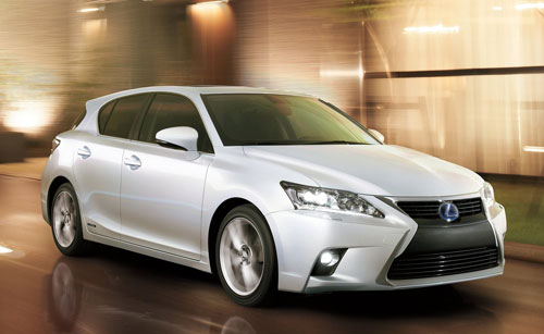 Lexus CT 200h (frontal)