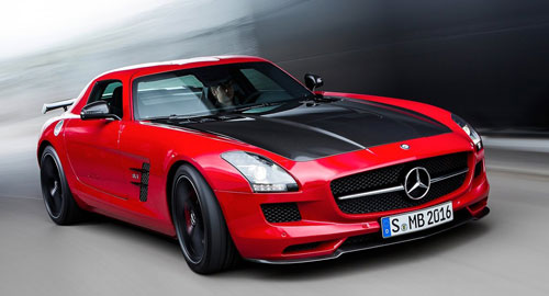 Mercedes-Benz SLS AMG GT Final Edition (frontal)