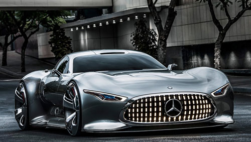 Mercedes-Benz Vision Gran Turismo Concept (frontal)