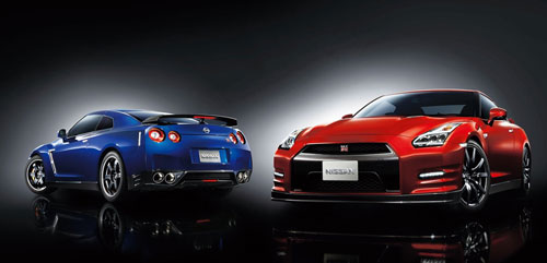 Nissan GT-R (frontal)