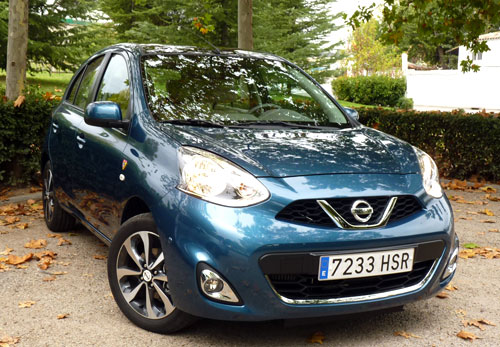 Nissan Micra (frontal)