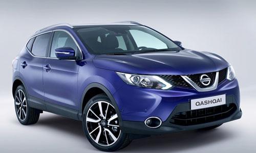 Nissan Qashqai (frontal)