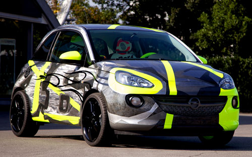 Opel Adam (frontal)