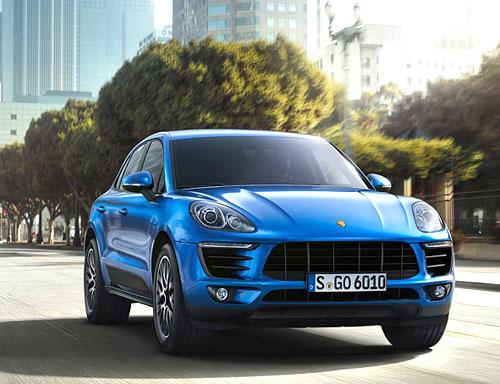 Porsche Macan (frontal)