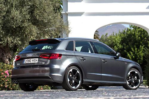 Audi A3 Sportback (trasera)