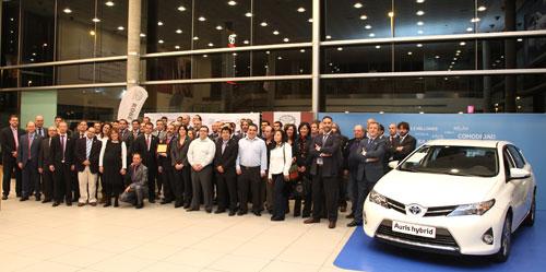 Kobe Motor recibe el premio Club de Oro de Toyota España (2)