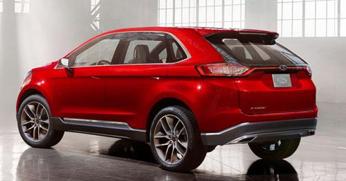 Ford Edge Concept (trasera)