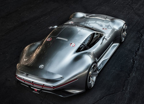 Mercedes-Benz Vision Gran Turismo Concept (trasera)
