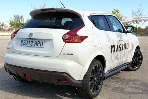 Nissan Juke Nismo (trasera)