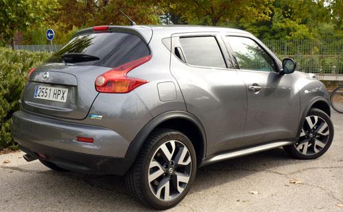 Nissan Juke (trasera)