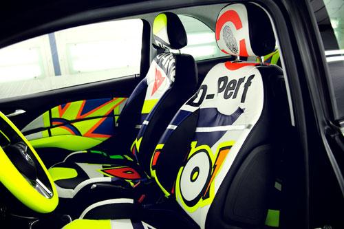 Opel Adam (asientos)