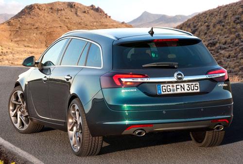 Opel Insignia (trasera)