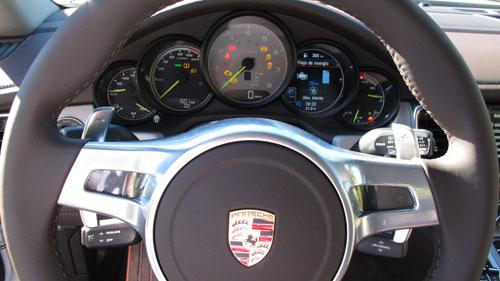 Porsche Panamera Hybrid (instrumentacion)