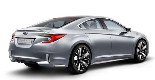 Subaru Legacy Concept (trasera)