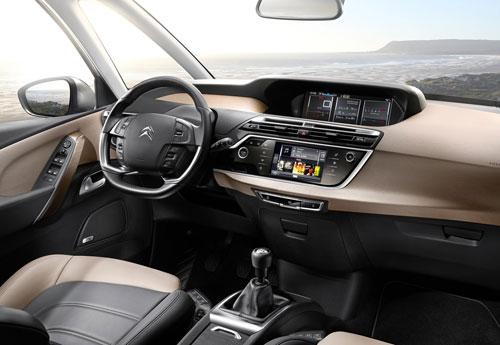 Citroën C4 Picasso (interior)
