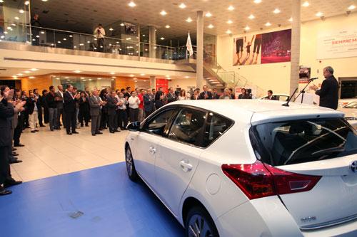 Kobe Motor recibe el premio Club de Oro de Toyota España (3)