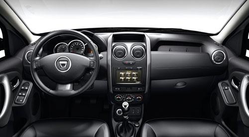 Dacia Duster (interior)