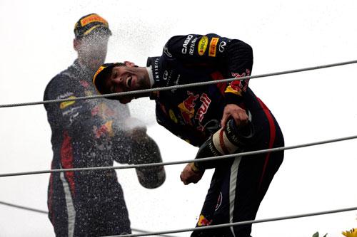 Vettel y Webber - GP Brasil - Fórmula 1